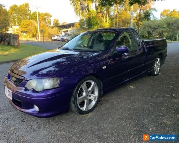 FORD BA XR8  5.4 BOSS  AUTO  UTE IN PHANTOM MICA ORIGINAL CONDITION 2003 for Sale