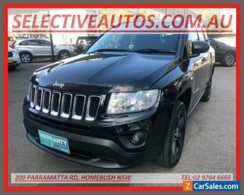 2012 Jeep Compass MK MY12 Sport (4x4) Black Automatic A Wagon for Sale