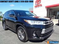 2018 Toyota Highlander 2018 Highlander XLE All Wheel Drive Midnight Black