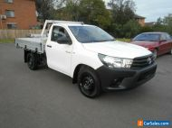 2018 Toyota Hilux TGN121R MY17 Workmate White Automatic 6sp A Cab Chassis
