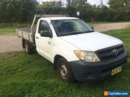 2008 Toyota Hilux Workmate - FEB 2021 REGO - Manual - Tray