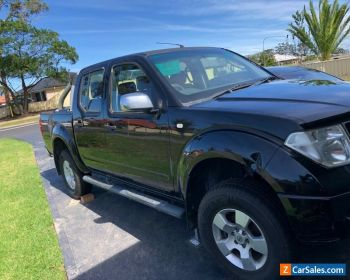 Nissan Navarra 2007 Turbo Diesel D40 ST-X 4WD Ute -Needs New Clutch,ac& blueslip for Sale