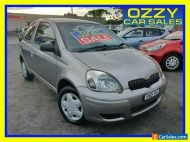 2005 Toyota Echo NCP10R Silver Automatic 4sp A Hatchback