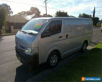 2012 Toyota HiAce KDH201R Silver Automatic A Van for Sale