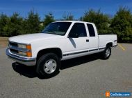 1998 Chevrolet C/K Pickup 1500 Silverado K1500 4X4 No Rust From Nevada No Reserve