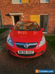 2007 VAUXHALL Corsa Club 1.2, 16V, 3-door Hatchback (RED), Good for first car!