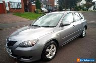 2005 MAZDA 3 TS 1.6  GREY 5 DOOR AUTOMATIC VERY LOW MILEAGE ONLY 2 LADY OWNERS