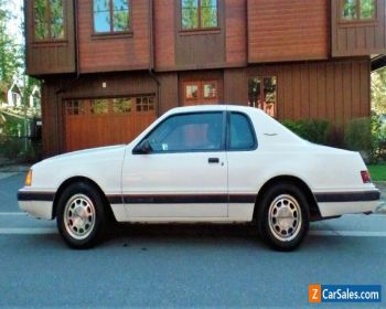 1986 Ford Thunderbird TURBO COUPE for Sale