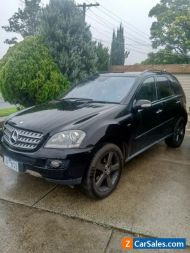 Mercedes ML320 CDI 2008 Edition 10 black on black