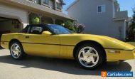 Chevrolet: Corvette Corvette