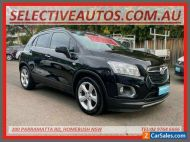 2014 Holden Trax TJ MY15 LTZ Black Automatic 6sp A Wagon