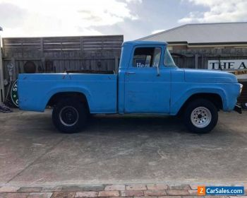 1957 Ford F100 SWB V8 Manual Pickup for Sale