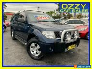 2005 Nissan Pathfinder R51 ST (4x4) Blue Manual 6sp M Wagon