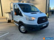 2014 Ford Transit VO 470E Cab Chassis 2dr Man 6sp, 2547kg 2.2DT Silver Manual M