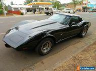 1979 Chevrolet Corvette Black Automatic V8