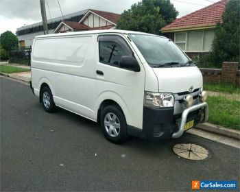 2014 Toyota HiAce TRH201R White Automatic A Van for Sale