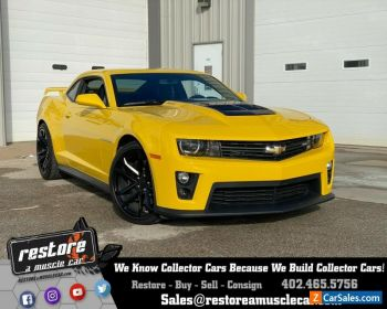 2013 Chevrolet Camaro ZL1, LSA 6spd, 9k Miles, Rally Yellow, Bumble Bee for Sale