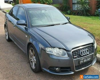 2008 AUDI A4 2.0 PETROL 7SPD B7 S LINE MAY 2020 REGO 251000KMS CLEAR TITLES for Sale