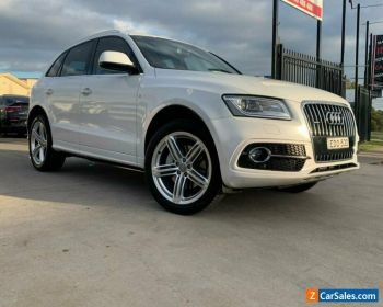 2015 Audi Q5 8R TDI Wagon 5dr S tronic 7sp quattro 3.0DT [MY15] Glacier White A for Sale