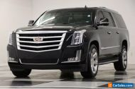2015 Cadillac Escalade 4WD ESV Luxury DVD Sunroof Navigation Black Raven 4X4