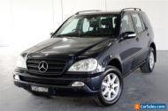 2004 Mercedes-Benz M-Class W163 MY04 ML350 Classic Blue Sports Automatic Wagon