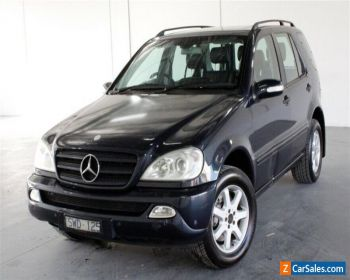 2004 Mercedes-Benz M-Class W163 MY04 ML350 Classic Blue Sports Automatic Wagon for Sale