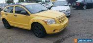 2006 Dodge Caliber PM SXT Yellow Automatic 6sp A Hatchback