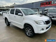 2015 Toyota Hilux KUN26R SR White Automatic A Utility