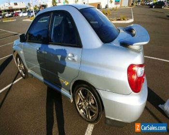 Subaru WRX 2004 Club Spec Evo 7 Silver Sedan for Sale