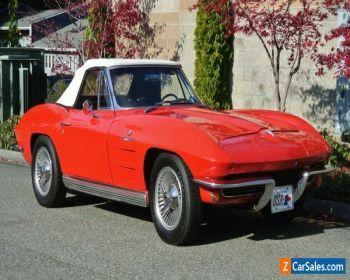 1964 Chevrolet Corvette Convertible Fuel Injection Numbers Matching for Sale