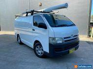 2007 Toyota HiAce TRH201R MY08 Van LWB 4dr Auto 4sp, 1135kg 2.7i White A Van