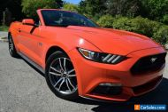2016 Ford Mustang CONVERTIBLE GT-EDITION(5.0 LITER)