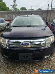 2007 Ford Edge White leather