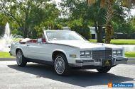 1984 Cadillac Eldorado 2dr Biarritiz Convertible