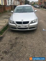 E90 bmw 320i manual with private plate