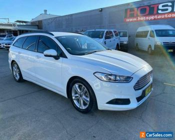 2016 Ford Mondeo MD Ambiente White Automatic A Wagon for Sale