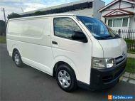 2008 Toyota HiAce TRH201R White Manual M Van