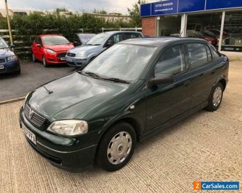 1998 VAUXHALL ASTRA LS 8V 1.6cc AUTOMATIC for Sale