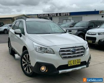 2017 Subaru Outback 5GEN 2.5i Wagon 5dr CVT 6sp AWD [MY17] Crystal White Pearl for Sale