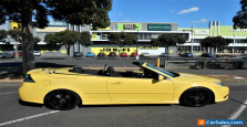 SAAB 93 2008 LYNX EDITION CONVERTIBLE VERY RARE IN AUSTRALIA  IN EXCELLENT COND