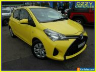 2015 Toyota Yaris NCP130R MY15 Ascent Yellow Automatic 4sp A Hatchback