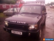 Landrover discovery td5 03 reg m.o.t spares or repairs automatic 7 seater