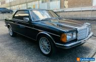 1982 Aussie delivered 280ce Mercedes Benz coupe W123