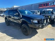 2014 Ford Ranger PX XLT Black Automatic A Pick Up
