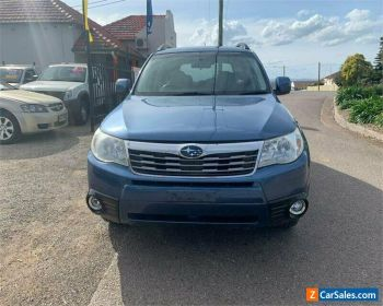 2008 Subaru Forester S3 X Blue Automatic A Wagon for Sale