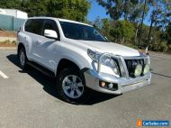 2014 Toyota Landcruiser Prado KDJ150R GXL White Automatic 5sp A Wagon