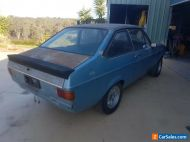 1979 Ford Escort 2 Door Coupe, 2 Litre Engine,  4 Speed Gearbox, Blue