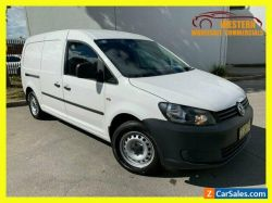 2015 Volkswagen Caddy White Automatic A Van