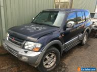 Mitsubishi Pajero GLS Leather Trim, Minor Damage. 2000 Model Runs Well