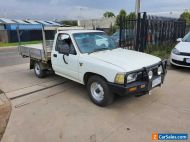 1992 Toyota Hilux Single Cab Tray Ute Manual DUEL FUEL